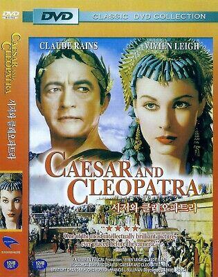 Caesar Cleopatra (Caesar and Cleopatra (1945) Claude Rains / Vivien Leigh DVD NEW *FAST)