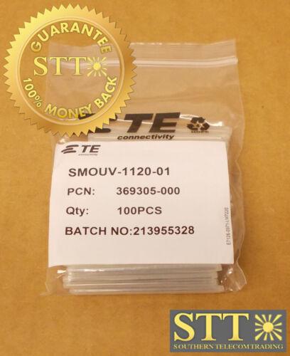 Smouv-1120-01 Commscope/te Fiber Splice Heat Shrink Sleeve 100-pc 369305-000 New