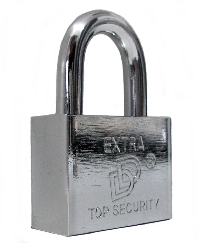 Sicherheits- Vorhängeschloss, Kellerschloss 50mm mit/ohne Generalschlüssel