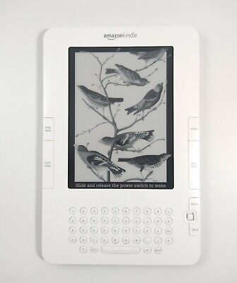 Amazon Kindle 2nd Generation  |  Model D00701  |  2GB  |  3G  |  TESTED