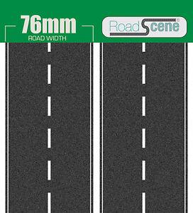 2 metres 76mm Road to suit OO Gauge (Hornby Skaledale etc.) Self Adhesive Vinyl