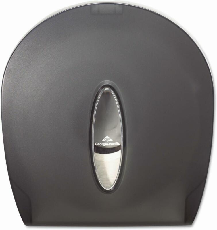 Georgia Pacific 59009 Smoke Jumbo Jr. Bathroom Tissue Dispenser