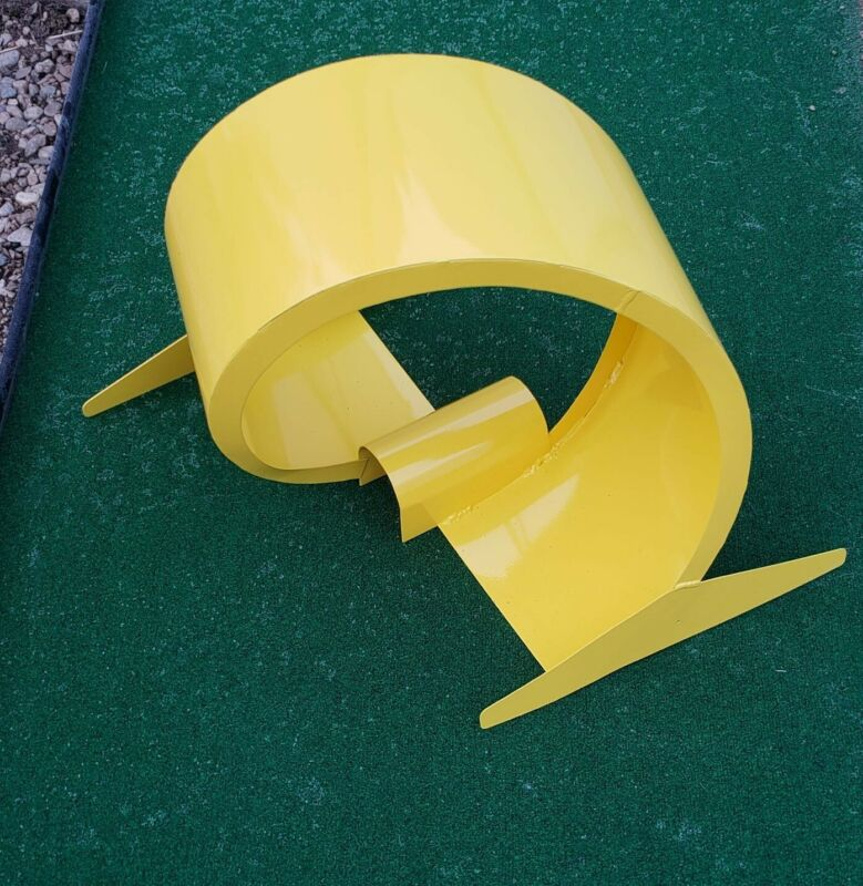 mini golf obstacle 360 Loop yellow powder coated made in the US