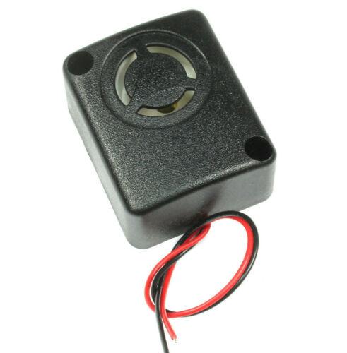 1pc. -High Quality Painfully Loud 108db Mini Siren Piezo Warble Alarm 12VDC 9VDC