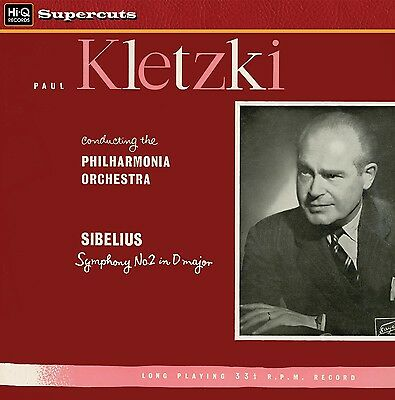 PHILHARMONIA ORCHESTRA/PAUL KLETZKI - Sibelius/Symphony No.2. New LP + sealed