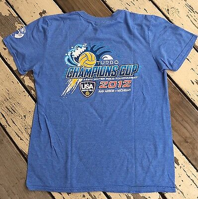 Turbo Championship Cup, Ann Arbor • USA WATER POLO • USAWP • Mens T-Shirt Ambiance