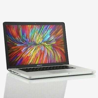 "Apple Macbook Pro 15"" (2008) Core 2 Duo 2.4Ghz 4GB 256GB SSD (C)"