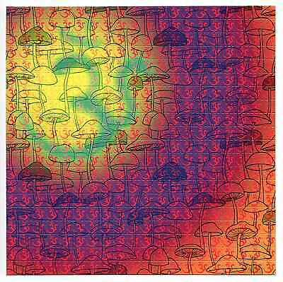 shroOMs - blotter art - psychedelic goa acid artwork