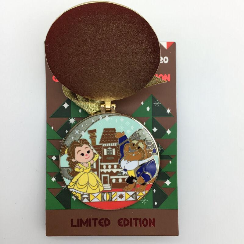 Disney Pin Christmas Belle Beauty & Beast Gingerbread Grand Floridian Resort