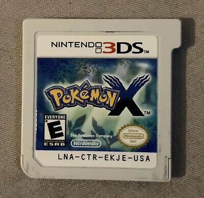 Pokemon X Nintendo 3DS 2013 Game Cartridge Only Tested Authentic