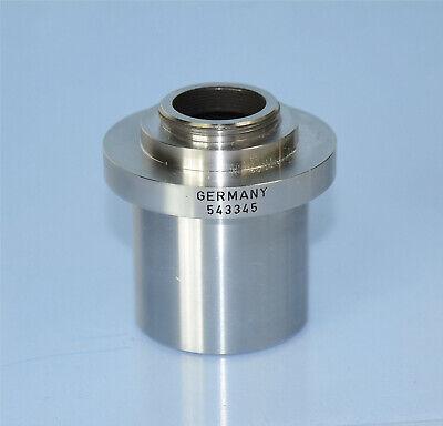 Leica 1.0x 38mm C-mount Camera Adapter 553345- Leica Wild Leitz Microscopes