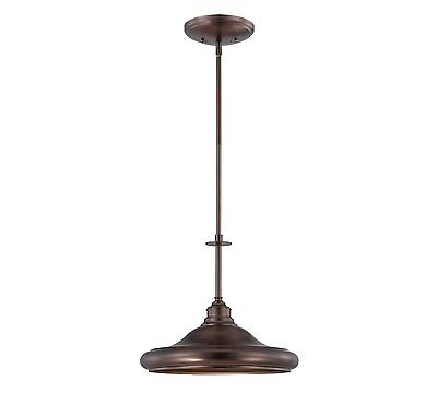 Savoy House 7-5452-1-28 Pendant with No Shades, Oiled Burnished Bronze Finish Burnished Bronze Finish Pendants