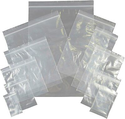 Deli Supplies 1000 x Grip Seal Bags 2.25