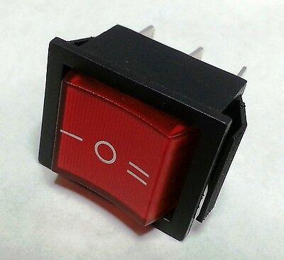 1pc Rocker Switch Dpdt 6 Pins On-off-0n 20a125vac 15125vac Usa Free Shipping