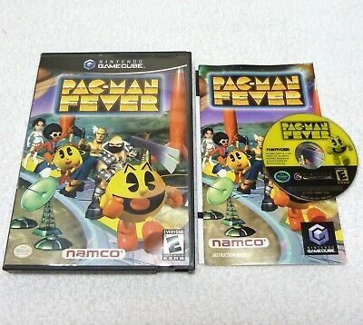 Pac-Man Fever (Nintendo GameCube, 2002) Complete, Works Perfectly