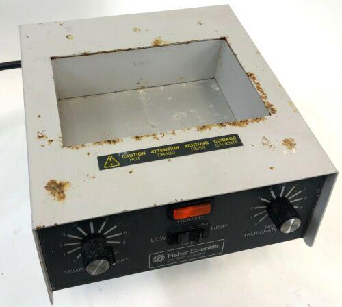 FISHER SCIENTIFIC Single Bay Metal Lab Laboratory Heat Dry Bath Heater Incubator