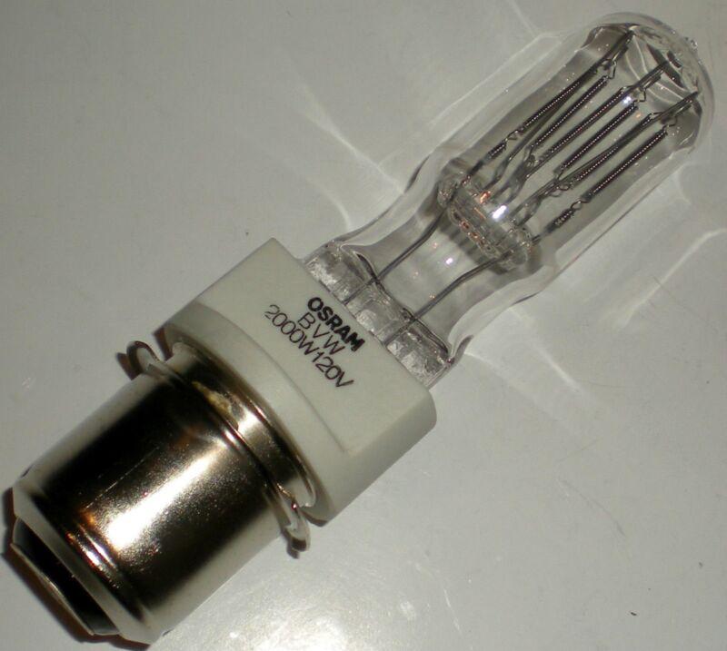 LIGHT BULB 2000W 120V GE LIGHTING BVWQ2MT10/4CL/MP P40s BASE T10 SHAPE 350 HR