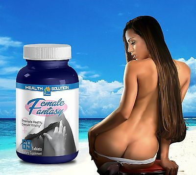 Sexual Pills FEMALE FANTASY Sexual Vitality Horny Goat Weed Maca (60 Tablets)