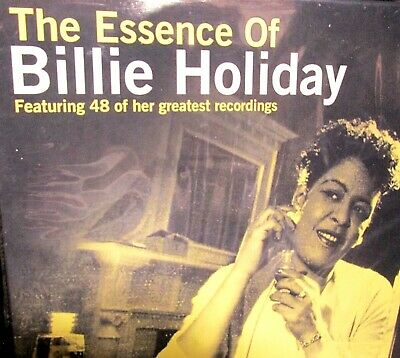 Essence of Billie Holiday NEW! 2 CDS 48 Greatest HITS Best Of, 2.5 hours,Rare