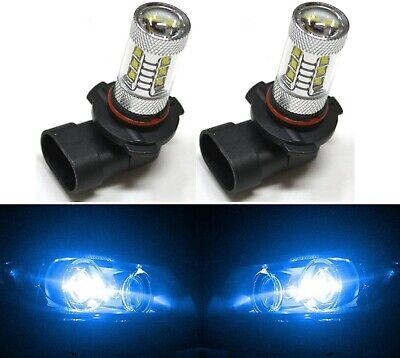 LED 80W 9005 HB3 Blue 10000K Two Bulbs Head Light High Beam Plug Play Show