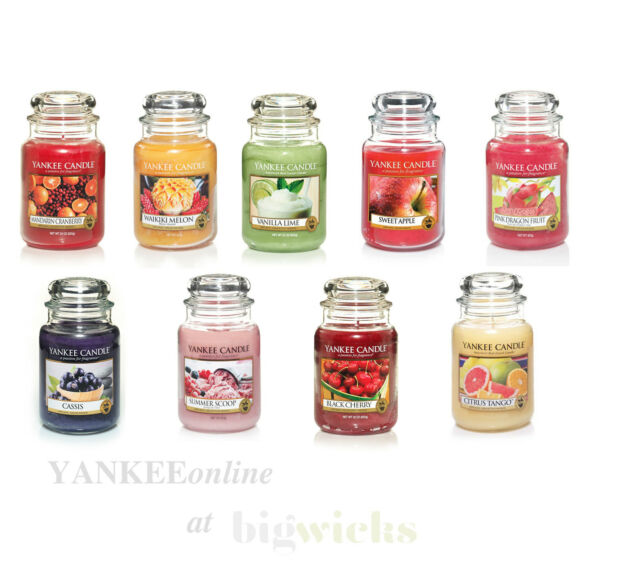 Yankee Candle Large Jar - Fruit Selection - From 25% OFF