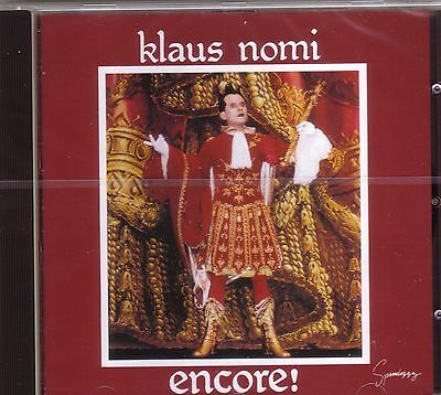 CD (NEU!) . Best of KLAUS NOMI (Total Eclipse The Cold Song Ding Dong