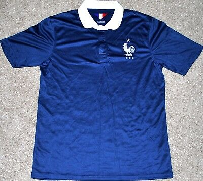 France Mens Soccer Futbol Jersey Fifa World Cup S  M  Lg  Xl New  Trikot Read Ad