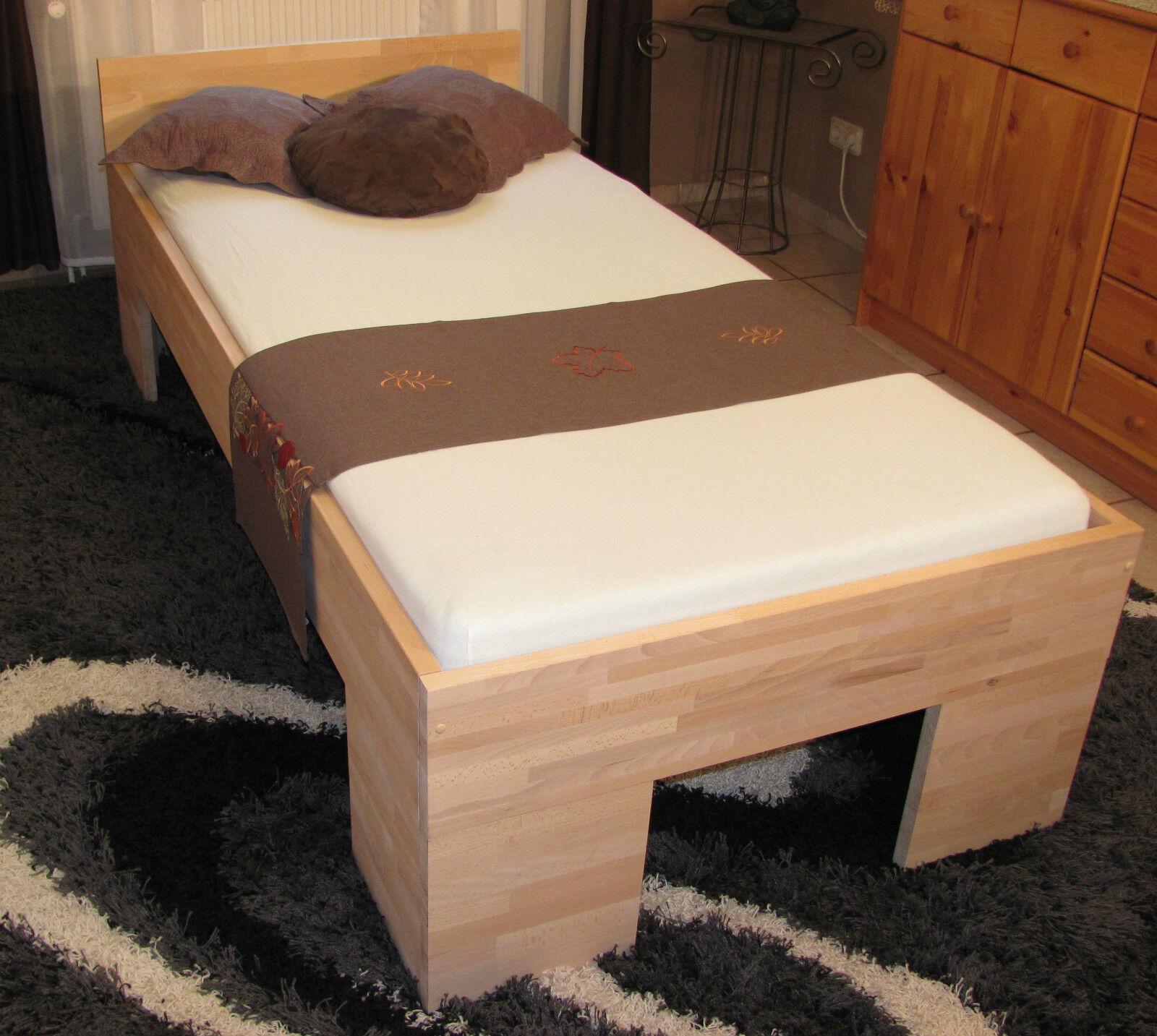 bettgestell bett 120x200 fu ii doppelbett g stebett futonbett schlafzimmer eur 139 00. Black Bedroom Furniture Sets. Home Design Ideas
