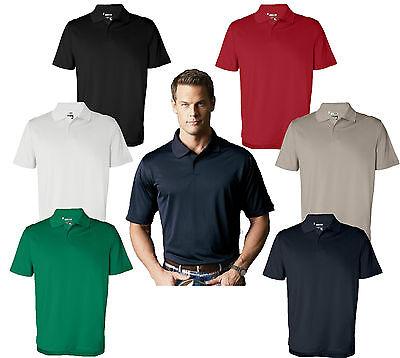 ADIDAS GOLF Mens Size S-XL 2XL 3XL ClimaLite CoolMax Tech Polo Sport Shirt A55