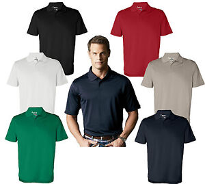 ADIDAS-GOLF-A55-Mens-Size-S-XL-2XL-3XL-ClimaLite-CoolMax-Tech-Polo-Sport-Shirt