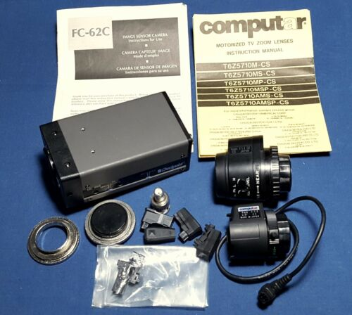Security Camera Checkpoint FC-62C Computar Lenses & more
