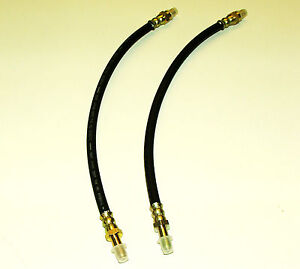 PAIR OF FRONT BRAKE HOSES FOR ROVER P4 60, 75, 90, 105R & 105S 1950 - 1959