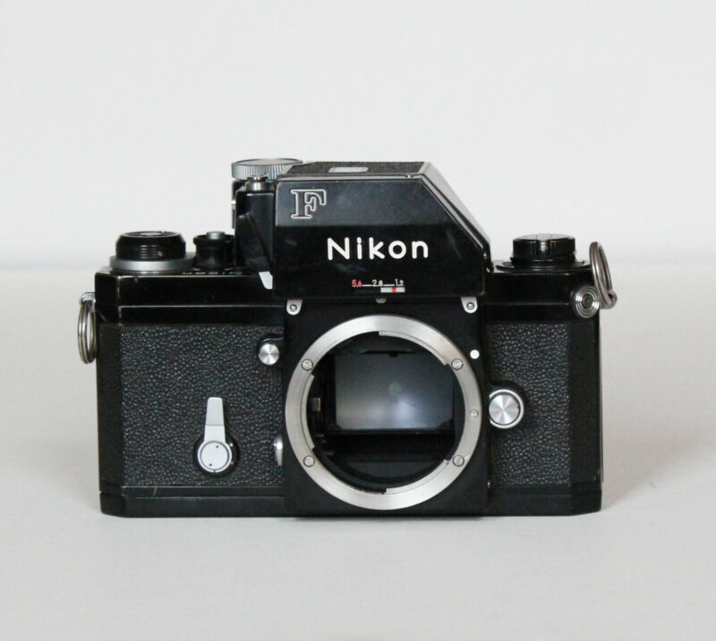 Rare 1971 Nikon F Photomic Black 35mm SLR Film Camera Body Good Condition