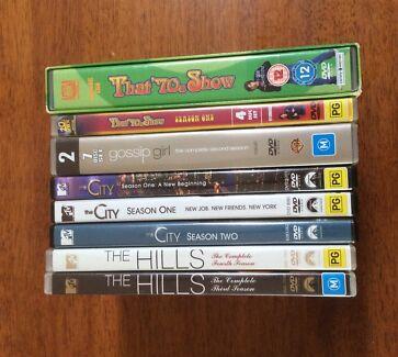TV Series DVD box sets $5 each