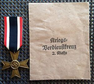 Packeted German WW2 War merit cross without swords Liverpool Liverpool Area Preview