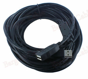 50-FT-Hi-Speed-480Mbp-USB-2-0-Extension-Cable-with-Active-Repeater-U2A1-A2-50