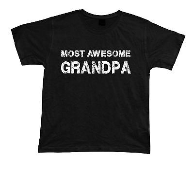 Most Awesome Grandpa No1 best Ever T shirt Great Gift Idea birhday present (Best #1 Tees Grandpa Ever Tshirts)