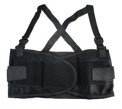 Heavy Duty Weight Lift Lumbar Lower Back Waist Support Belt Brace Suspender Work - Lifting Back Support