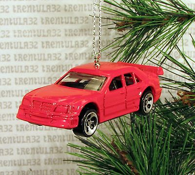 Used, MERCEDES-BENZ C-CLASS 4 DOOR SPORTS CAR RED CHRISTMAS ORNAMENT XMAS for sale  Shipping to India