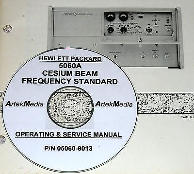 Hp 5060a Cesium Beam Freq Standard Service Ops Manual