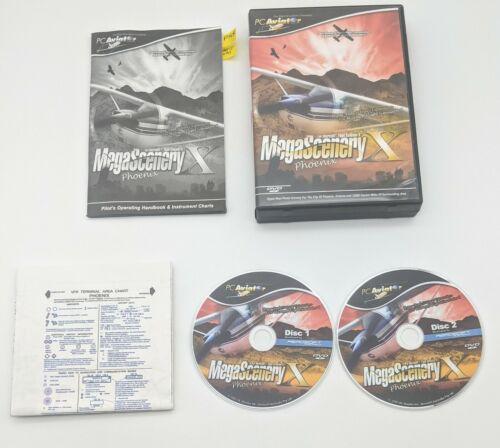 MegaScenery X Phoenix Flight Simulator X Microsoft PV Aviator COMPLETE - $19.99