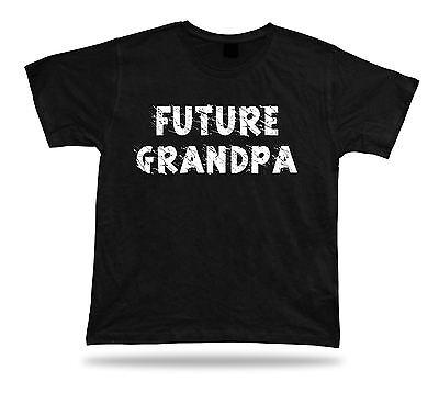 Future Grandpa Awesome No1 best Ever T shirt super Gift Idea birhday present (Best #1 Tees Grandpa Ever Tshirts)