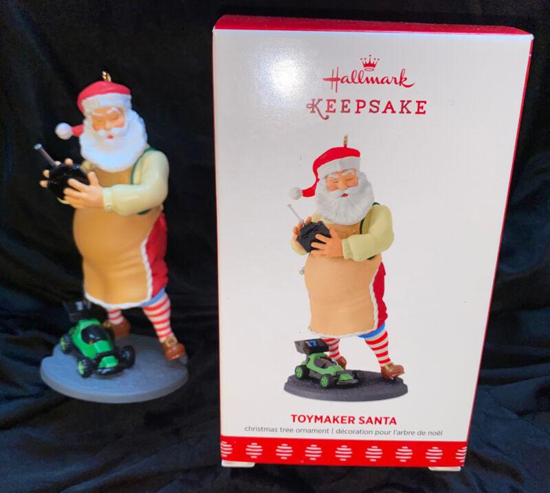 2017 Hallmark Keepsake Ornament Toymaker Santa NEW IN BOX