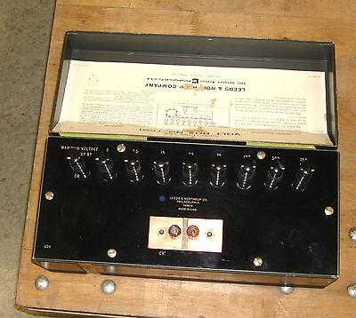 Leeds Northrup 7591 Volt Box Potentiometer