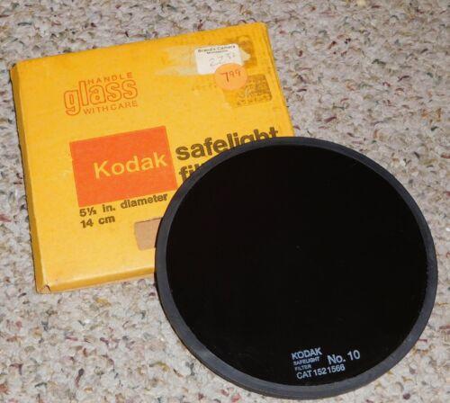 "Kodak ~ 5 1/2"", No 10 Darkroom Safelight"