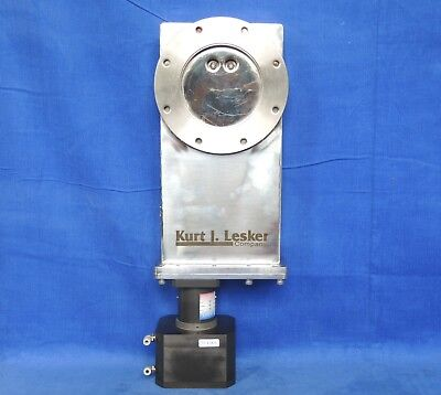 Used, Kurt Lesker ISO 100 CF High Vacuum Gate Valve Pneumatic drive to open/close  for sale  Shipping to India