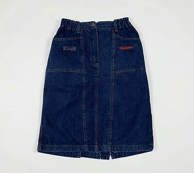 Pop 84 mini gonna jeans donna usato W28 tg 42 vintage invernale skirt T6060
