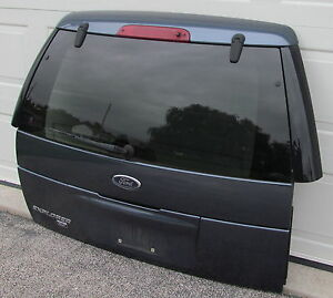 02 05 2002 2005 ford explorer rear tailgate liftgate with for 2002 ford explorer back window glass