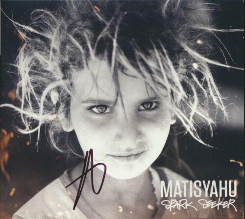 Matisyahu Spark Seeker SIGNED Autographed CD Booklet Cover