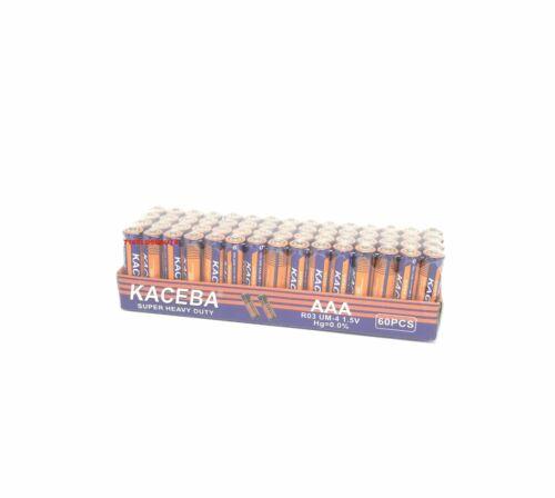 Lot Of 60 Aaa Batteries Extra Heavy Duty 1.5 V Wholesale Lot New Fresh
